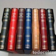 Sellos: ALBUMES SELLOS BEUMER (BBB). 15 ANILLAS. GAMA COLORES.. Lote 180996275