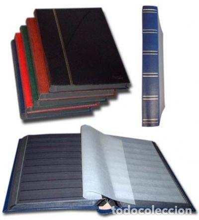 CLASIFICADOR,HOJAS NEGRAS 64 PÁGINAS. A4 22.5 X 30.5 CM. (Sellos - Material Filatélico - Álbumes de Sellos)