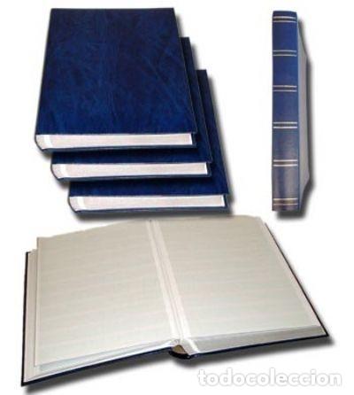 CLASIFICADOR,HOJAS BLANCAS 48 PÁGINAS. A4 22.5 X 30.5 CM (Sellos - Material Filatélico - Álbumes de Sellos)