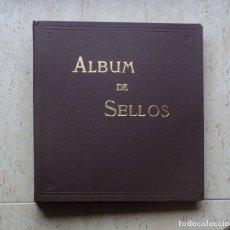 Sellos: ALBUM SELLOS.- FOTO 271- CON 50 HOJAS DE ANILLAS, (CON CAJA PARA ARCHIVAR) USADO. Lote 181010801