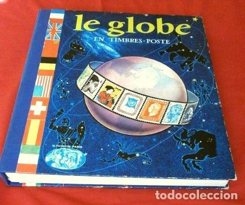 Sellos: CURIOSO ALBUM DE SELLOS FRANCES (AÑOS 60) LE GLOBE - SELLOS DE FINAL S. XIX a Años 60 - H. Thiaude - Foto 2 - 182215288