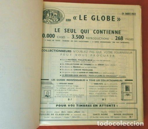 Sellos: CURIOSO ALBUM DE SELLOS FRANCES (AÑOS 60) LE GLOBE - SELLOS DE FINAL S. XIX a Años 60 - H. Thiaude - Foto 5 - 182215288