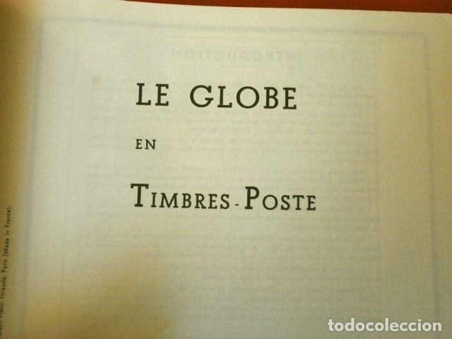 Sellos: CURIOSO ALBUM DE SELLOS FRANCES (AÑOS 60) LE GLOBE - SELLOS DE FINAL S. XIX a Años 60 - H. Thiaude - Foto 6 - 182215288