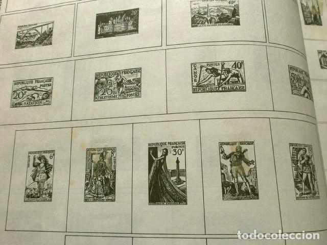 Sellos: CURIOSO ALBUM DE SELLOS FRANCES (AÑOS 60) LE GLOBE - SELLOS DE FINAL S. XIX a Años 60 - H. Thiaude - Foto 16 - 182215288