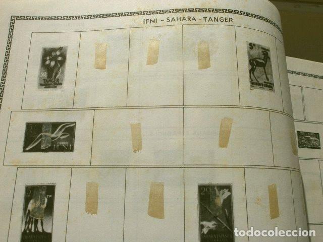 Sellos: CURIOSO ALBUM DE SELLOS FRANCES (AÑOS 60) LE GLOBE - SELLOS DE FINAL S. XIX a Años 60 - H. Thiaude - Foto 20 - 182215288