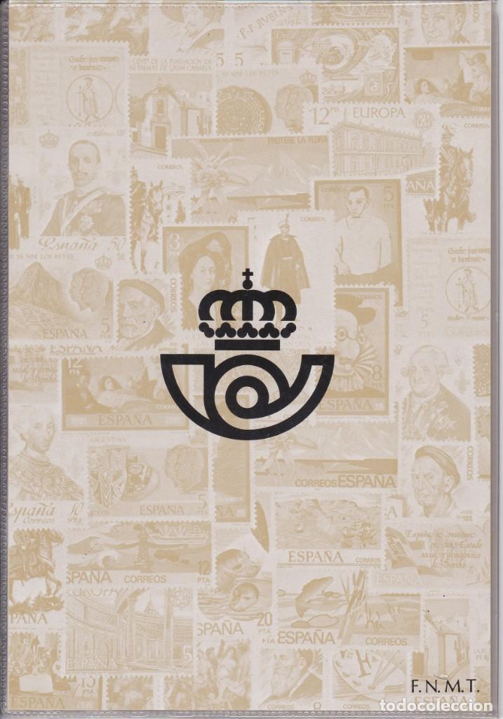 Sellos: ESPAÑA 1978 - ÁLBUM - CARPETILLA EDITADO POR CORREOS CON LAS EMISIONES DE 1978. MUY RARO - Foto 2 - 183409560