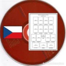 Sellos: CHECOSLOVAQUIA 1918-2011 (DIGITAL) PÁGINAS DE ÁLBUM DE SELLOS. Lote 183433812