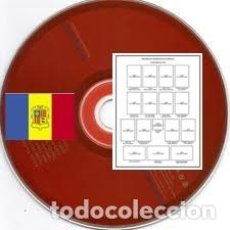 Sellos: ANDORRA ESPAÑOL 1875-2011 (DIGITAL) PÁGINAS DE ÁLBUM DE SELLOS. Lote 183480692
