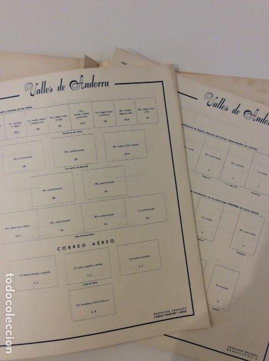 Sellos: ÁLBUM COLECCIÓN VALLES DE ANDORRA. SIN SELLOS - Foto 3 - 183502265