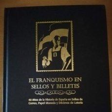 Sellos: EL FRANQUISMO EN SELLOS EN BILLETES. Lote 183582037