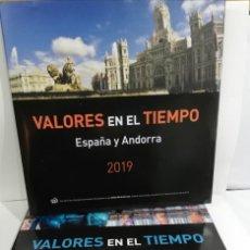 Sellos: 2 LIBROS PARA SELLOS DE 2019 Y 2018 ESPAÑA Y ANDORRA. Lote 206335921