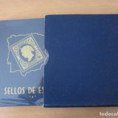 Sellos: ALBUM DE SELLOS DE ESPAÑA PHILOS. AÑOS 1850 A 1961 (VER DESCRIPCIÓN). Lote 186125906