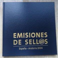 Sellos: LIBRO OFICIAL DE CORREOS AÑO A 2004 SIN SELLOS. Lote 186243561