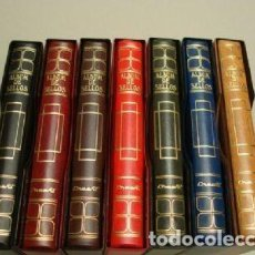 Sellos: ALBUMES SELLOS CREAFIL. 15 ANILLAS. GAMA DE COLORES.. Lote 217572188