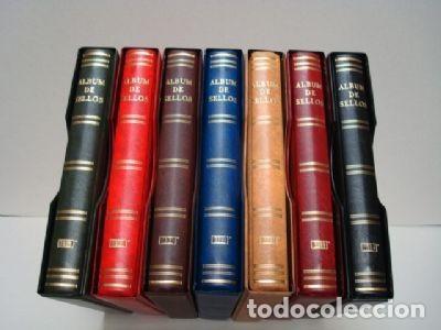 ALBUMES SELLOS BEUMER (BBB). 15 ANILLAS. GAMA COLORES. (Sellos - Material Filatélico - Álbumes de Sellos)