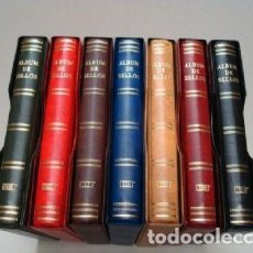 Sellos: ALBUMES SELLOS BEUMER (BBB). 15 ANILLAS. GAMA COLORES.. Lote 186593270