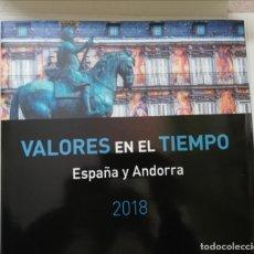 Sellos: LIBRO PARA SELLOS DEL AÑO 2018. Lote 187096943