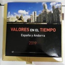 Sellos: LIBRO PARA SELLOS DE ESPAÑA Y ANDORRA 2019. Lote 187097000