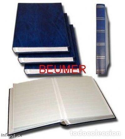BEUMER* 2 CLASIFICADORES A4. 64 PÁGINAS.HOJAS BLANCAS (Sellos - Material Filatélico - Álbumes de Sellos)