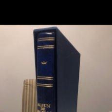 Sellos: ÁLBUM SELLOS 15 ANILLAS, LOMO EN CATALÁN. Lote 187528827