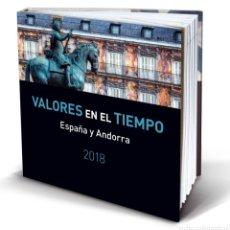 Sellos: LIBRO OFICIAL DE CORREOS AÑO 2018 SIN SELLOS (FOTOGRAFÍA ESTÁNDAR). Lote 203430308