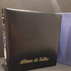 Sellos: ÁLBUM EFILCAR CON CAJETIN COLOR VERDE. Lote 191389046