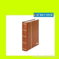 Sellos: CLASIFICADOR LINDNER. 60 PÁGINAS.HOJAS BLANCAS.COLOR BEIGE.. Lote 236867150