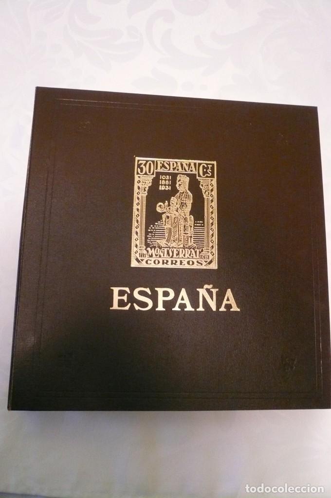 Sellos: 1 album de sellos sin sellos montado año 1986--1992 lote 6 - Foto 2 - 191589700