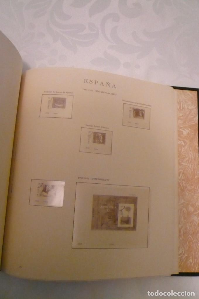 Sellos: 1 album de sellos sin sellos montado año 1986--1992 lote 6 - Foto 5 - 191589700