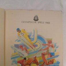 Sellos: 1 ALBUM DE SELLOS DE LA OLYMPIADA 1988 SEUL DE LA EMPRESA BOREK ALEMANA. Lote 191596123