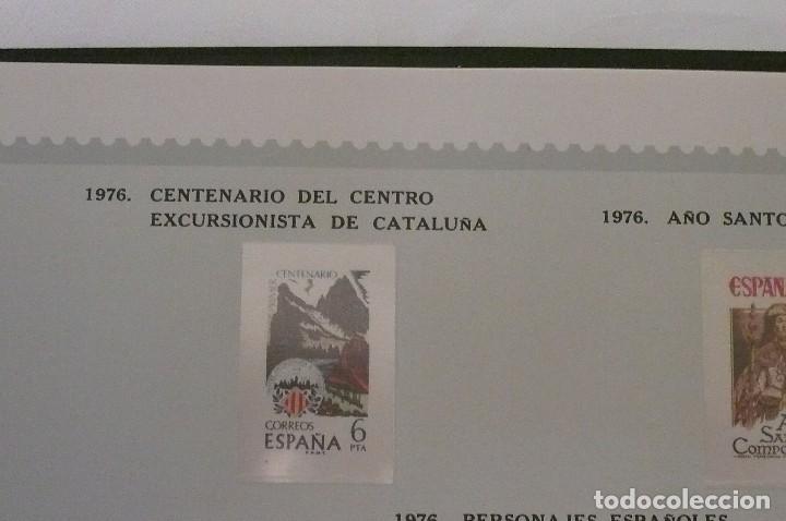 Sellos: 1 album de sellos españa año 1976--1983 montado vosgos 65 paginas en color lote 1 sin sellos - Foto 3 - 191597018