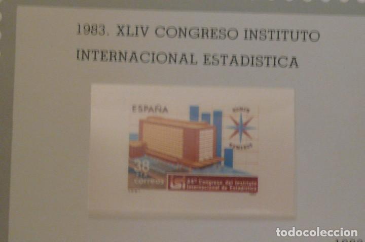 Sellos: 1 album de sellos españa año 1976--1983 montado vosgos 65 paginas en color lote 1 sin sellos - Foto 5 - 191597018