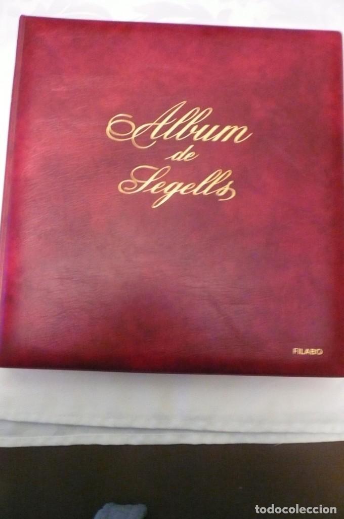 Sellos: 1 album de sellos españa año 1976-1985 olegario montado transp. 71 pag. lote 7 - Foto 2 - 191615378