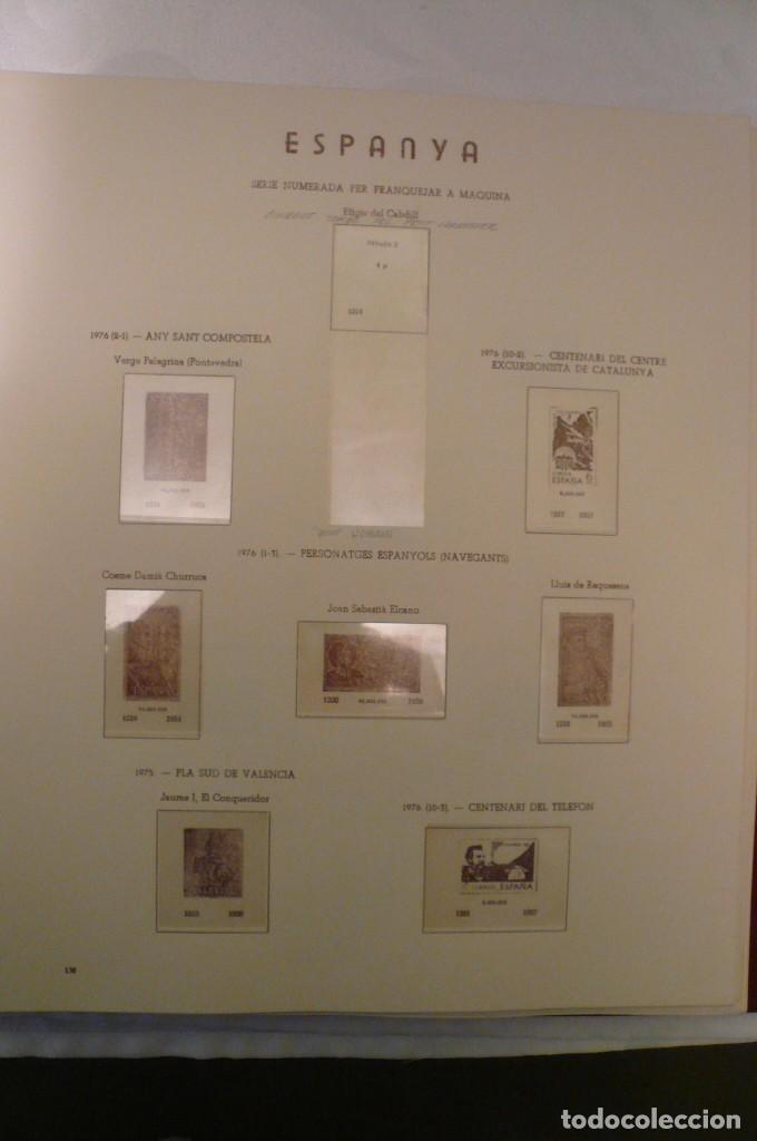 Sellos: 1 album de sellos españa año 1976-1985 olegario montado transp. 71 pag. lote 7 - Foto 3 - 191615378