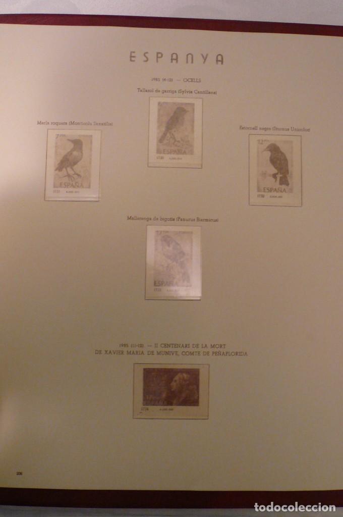 Sellos: 1 album de sellos españa año 1976-1985 olegario montado transp. 71 pag. lote 7 - Foto 5 - 191615378