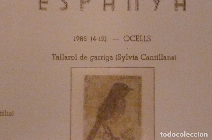 Sellos: 1 album de sellos españa año 1976-1985 olegario montado transp. 71 pag. lote 7 - Foto 6 - 191615378