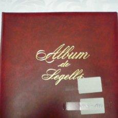 Sellos: 1 ALBUM DE SELLOS ESPAÑA AÑO 1992-1997 OLEGARIO MONTADO NEGRO. 72 PAG. LOTE10 SIN SELLOS. Lote 191618122