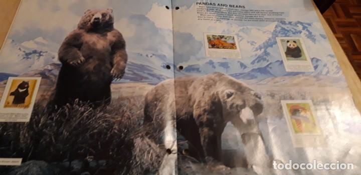 Sellos: 1 ALBUM DE SELLOS DE ** ANIMALS U.S. MAIL SELLOS DEL MUNDO ** 1982 EN INGLES - Foto 2 - 191631220