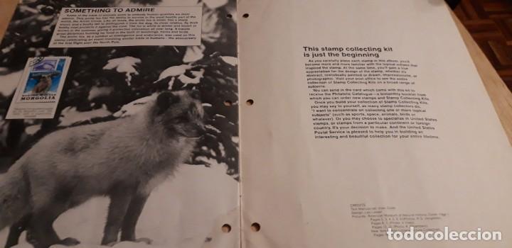 Sellos: 1 ALBUM DE SELLOS DE ** ANIMALS U.S. MAIL SELLOS DEL MUNDO ** 1982 EN INGLES - Foto 4 - 191631220