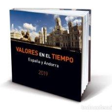 Sellos: LIBRO DE SELLOS DE ESPAÑA Y ANDORRA 2019 SIN SELLOS. Lote 193884863