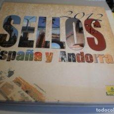 Sellos: ÁLBUM DE SELLOS DE CORREOS ESPAÑA Y ANDORRA 2012 (VACÍO Y EN BUEN ESTADO DE CONSERVACIÓN). Lote 194145352