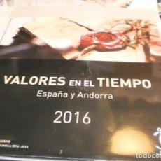 Sellos: ÁLBUM DE SELLOS DE CORREOS ESPAÑA Y ANDORRA 2016 (VACÍO Y EN BUEN ESTADO DE CONSERVACIÓN). Lote 194145531