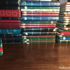 Sellos: COLECCIÓN DE 45 ALBUMS O SEPARADORES CON SELLOS.. Lote 194240018