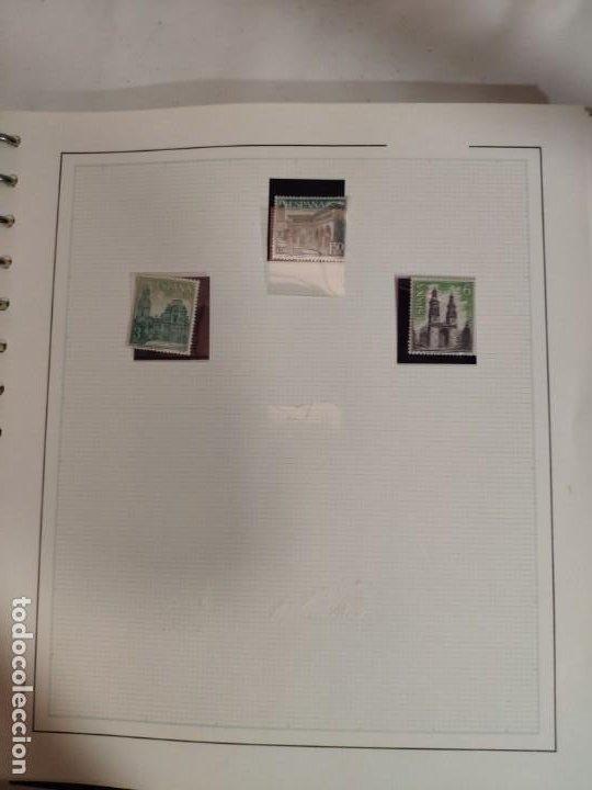 Sellos: Álbum de sellos FILABO 15 anillas con algun sello y 30 hojas en blanco - Foto 2 - 194270910