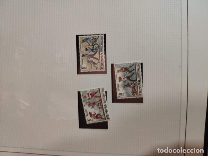Sellos: Álbum de sellos FILABO 15 anillas con algun sello y 30 hojas en blanco - Foto 3 - 194270910