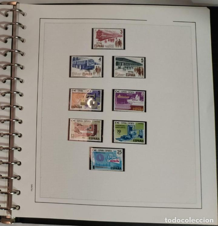 Sellos: Álbum de sellos FILABO 15 anillas con algun sello y 30 hojas en blanco - Foto 8 - 194270910