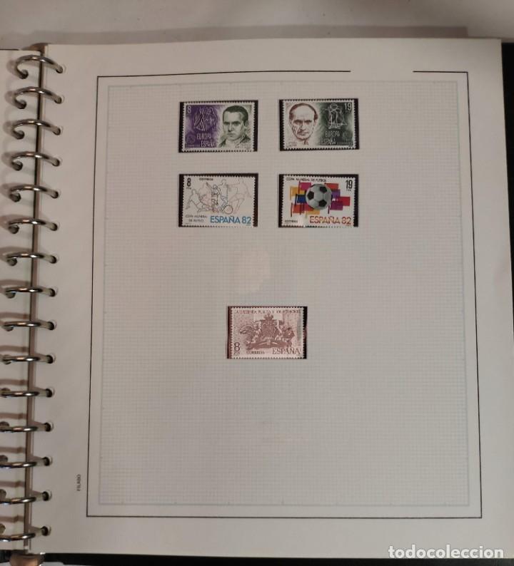 Sellos: Álbum de sellos FILABO 15 anillas con algun sello y 30 hojas en blanco - Foto 9 - 194270910