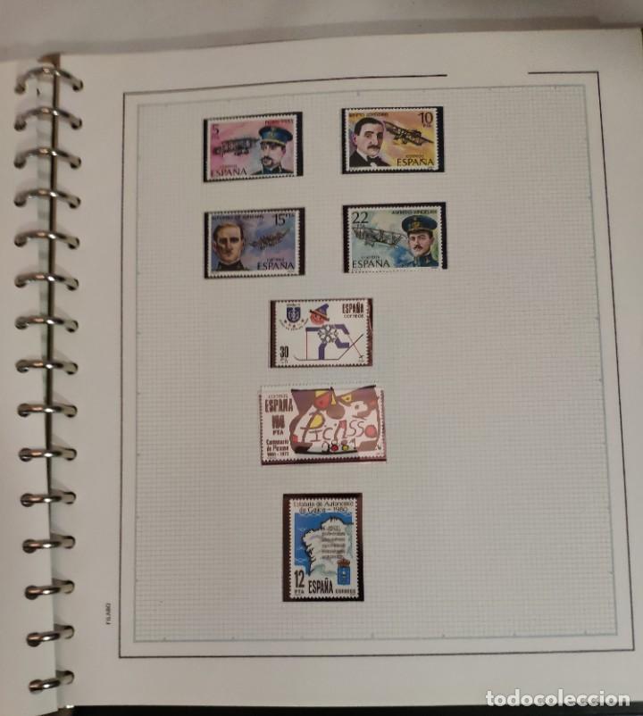 Sellos: Álbum de sellos FILABO 15 anillas con algun sello y 30 hojas en blanco - Foto 10 - 194270910