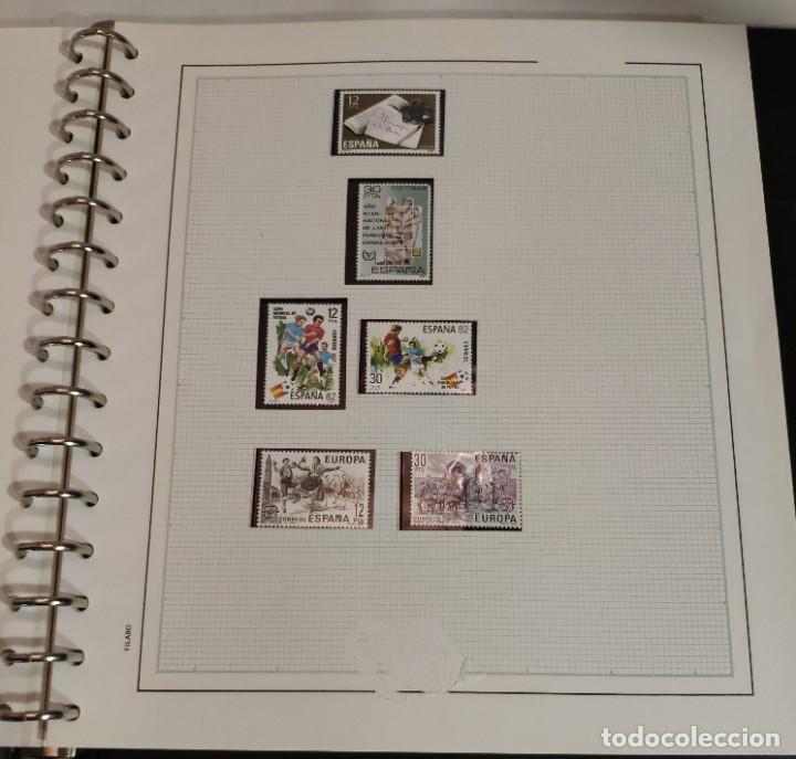 Sellos: Álbum de sellos FILABO 15 anillas con algun sello y 30 hojas en blanco - Foto 11 - 194270910