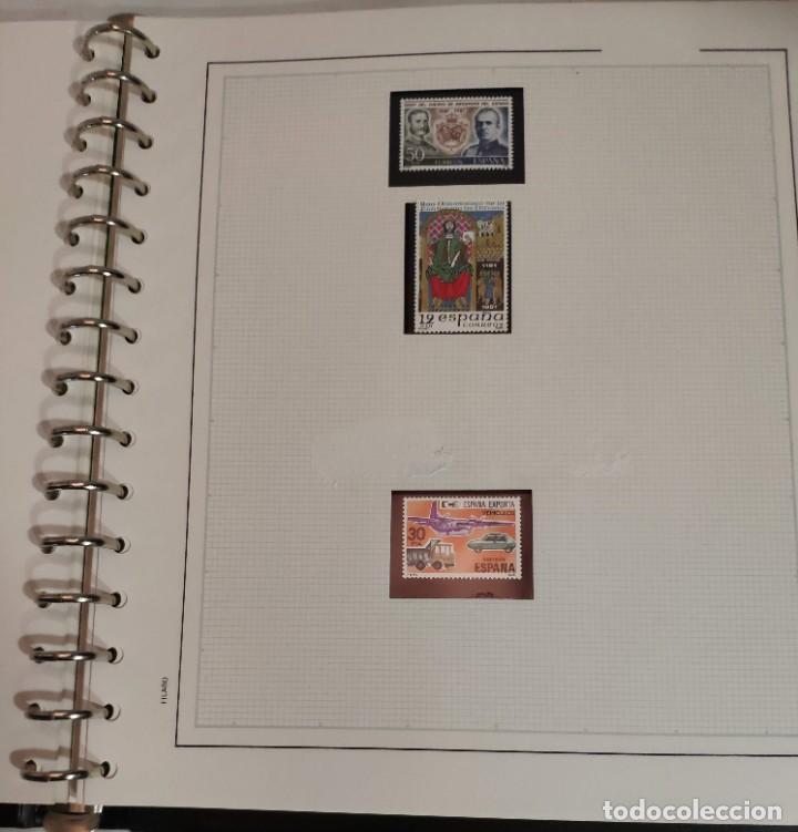 Sellos: Álbum de sellos FILABO 15 anillas con algun sello y 30 hojas en blanco - Foto 12 - 194270910